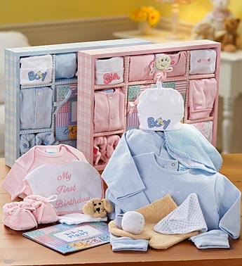 Classic Gift Set Baby Boy or Girl For Baby Shower Delivery!