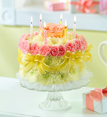 Flower Cake For Delivery