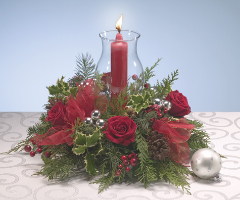 Starlight Centerpiece  Christmas Flower Delivery!