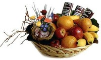 Candy Liscious Fruit and Flower Gift Basket Delivery!