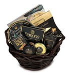 Chocolate Pure Gold Gift Baskets Delivery!