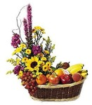 Eves Garden of Fruit and Flowers Basket Delivery!
