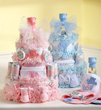 Diaper Cake and Toys For Baby Shower Delivery!